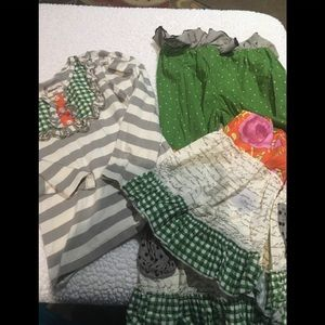 Girls outfit by mustard pie size 4
